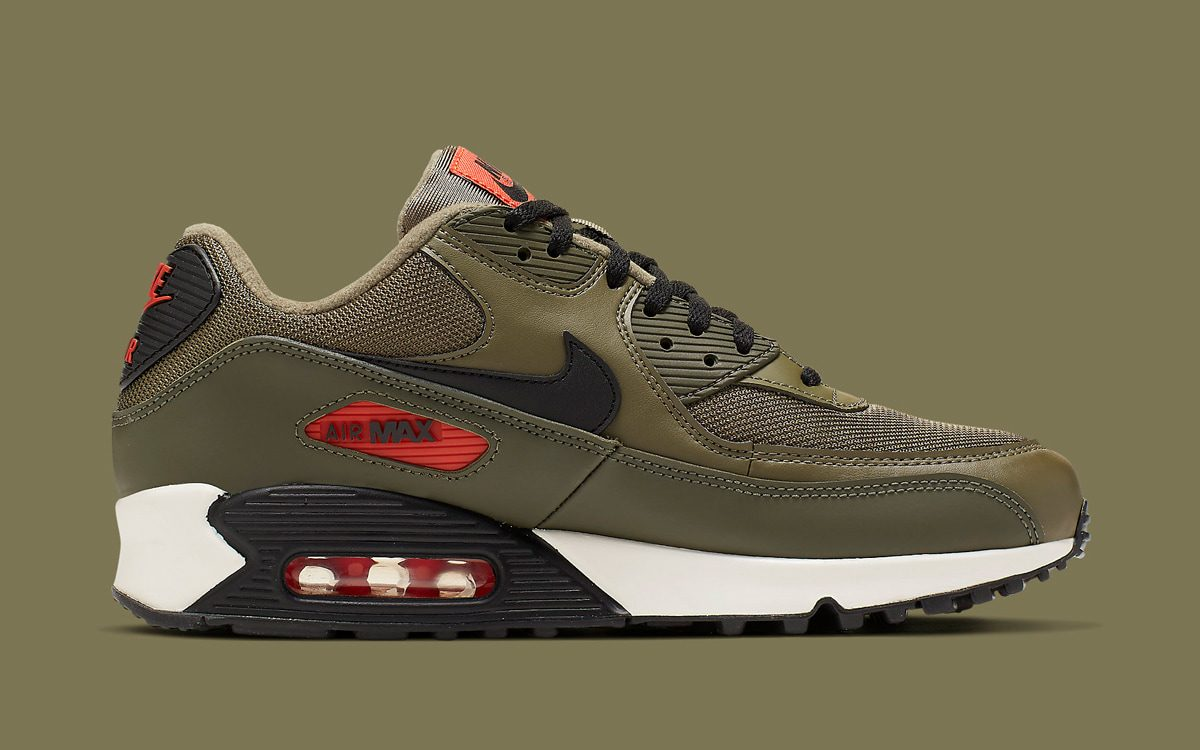 3d436d86fd Available Now // Nike's Next Air Max 90 Takes on an Undeniably Undefeated  Colorway