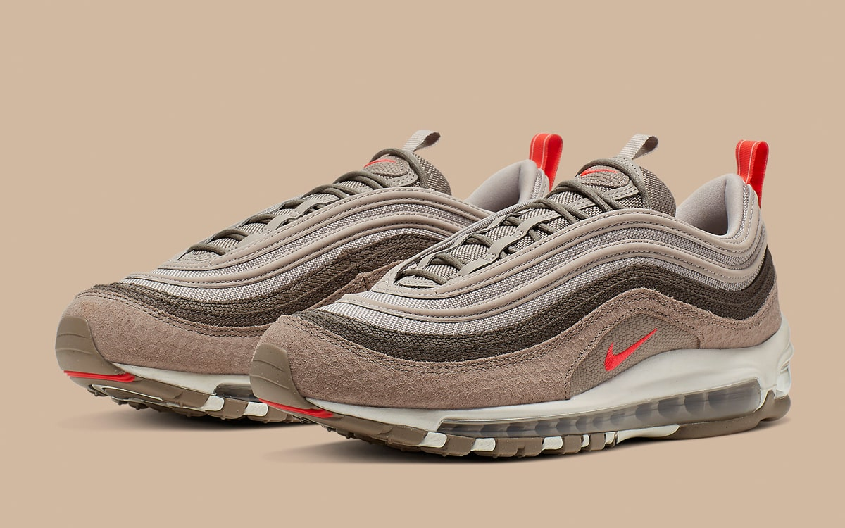 Earthy, Textured Tooling Arrives on the Air Max 97 HOUSE