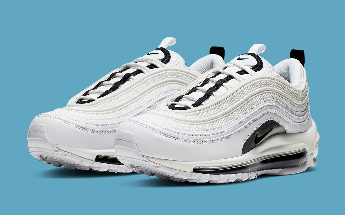 79ca330526 Available Now // Another Crisp White and Black Air Max 97 Arrives Soon