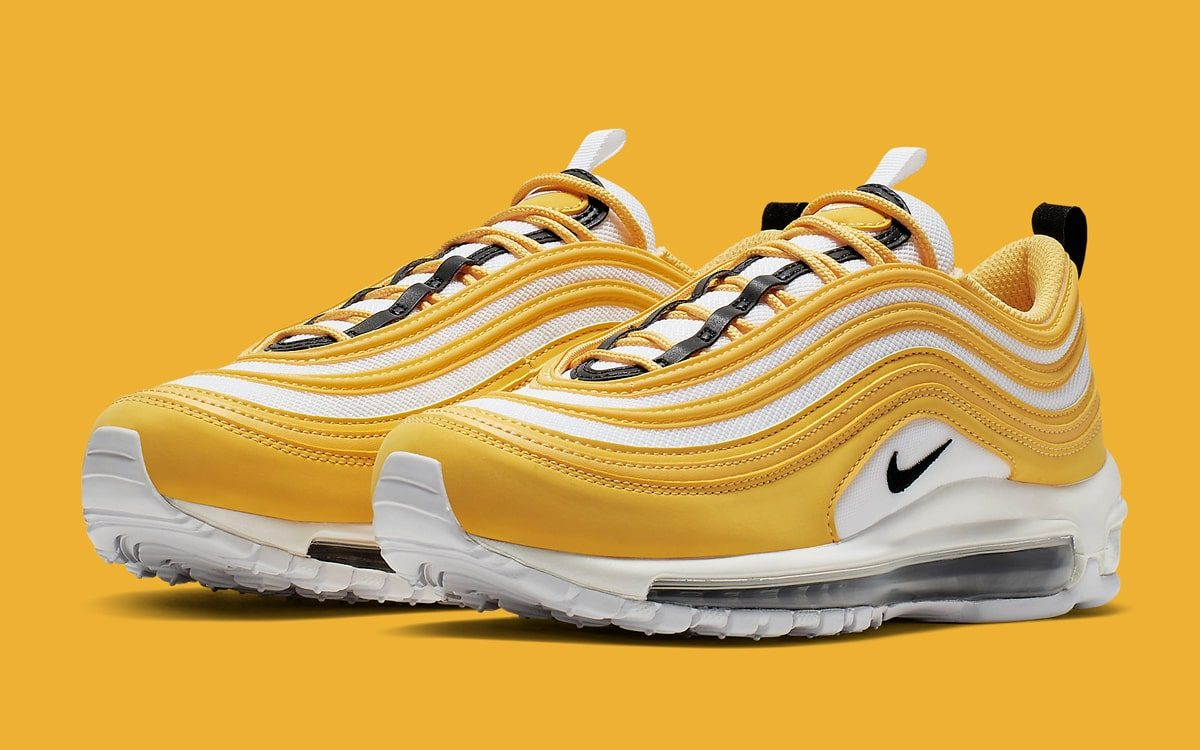 "Available Now // The Air Max 97 Takes on the Time-Honored ""Taxi"" Colorway"