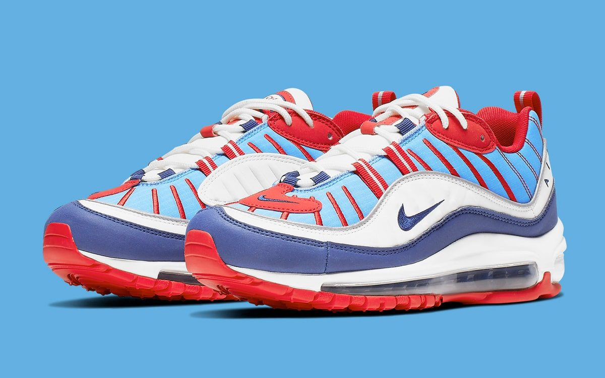 These Air Max 98s are Fit for Fourth of July Festivities