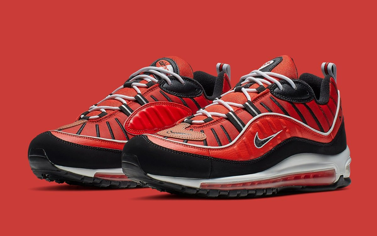best sneakers 16cde cbf82 Available Now // Basketball-Themed Nike Air Max 98s Arrive ...