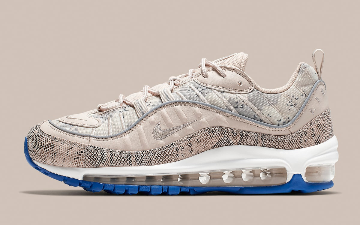 Air Max 98 in Camo and Snakeskin