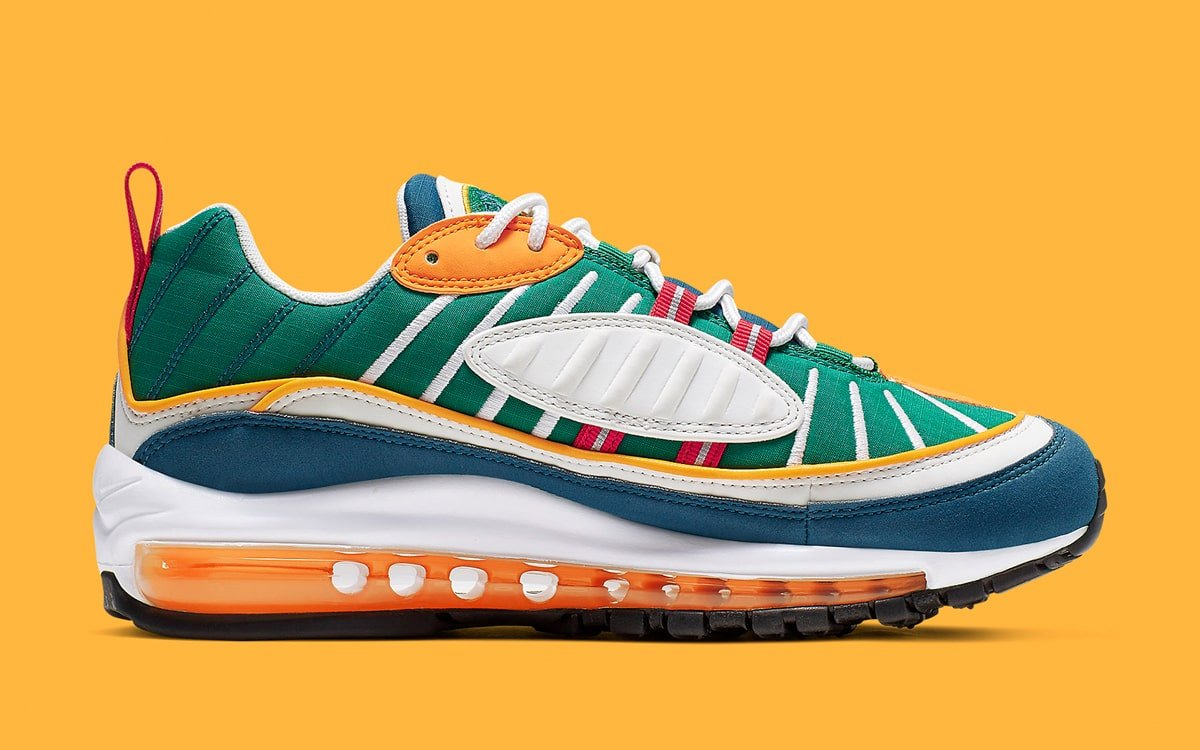 online store cb028 83ed4 Nike Unveil Utah Jazz-Themed Air Max 98s - HOUSE OF HEAT ...