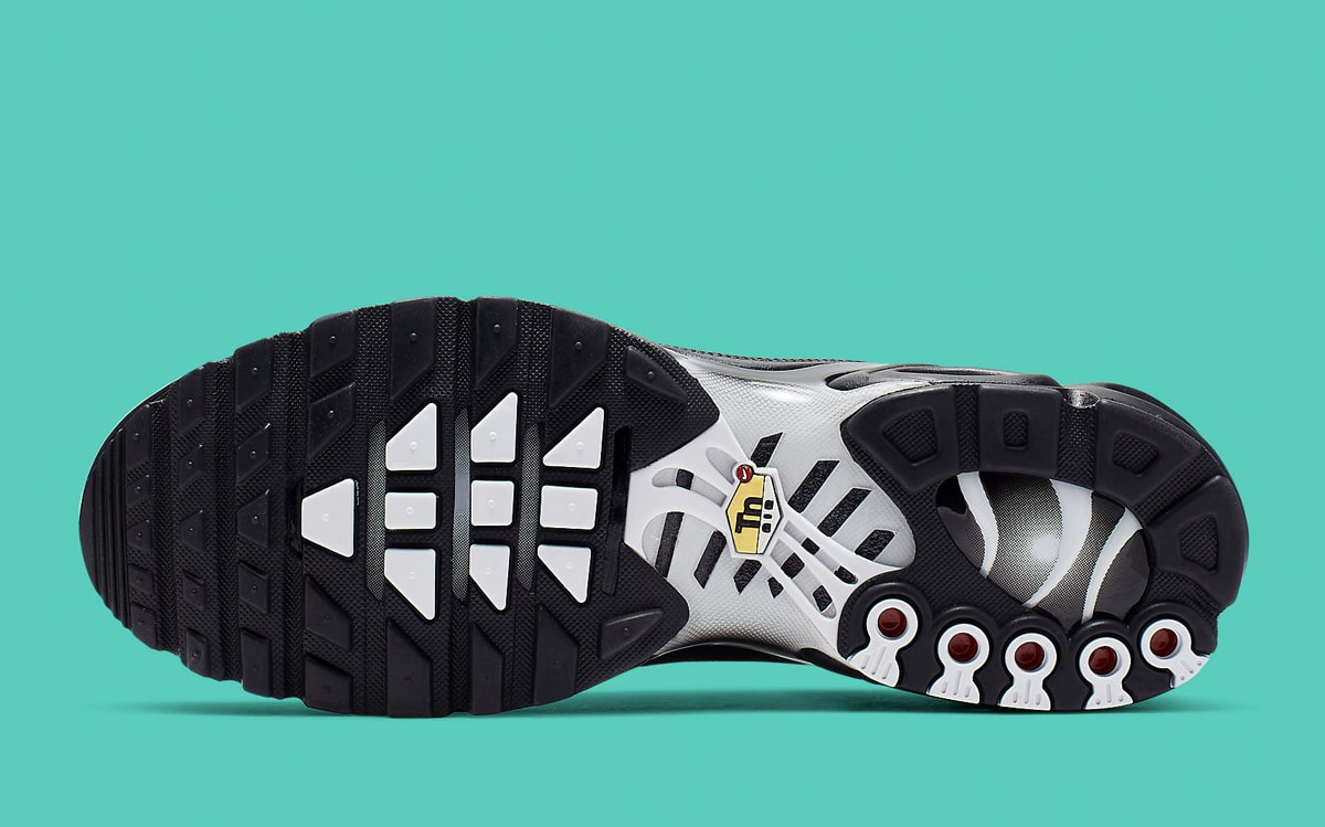74118fbbf Available Now    Monochrome Spray-Painted Air Max Plus - HOUSE OF ...