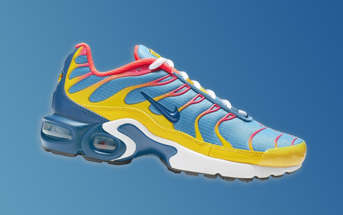 best cheap 4747a 61d3f These Superman Ice Cream-Flavored Air Max Plus  are a Perfect Summer Wear