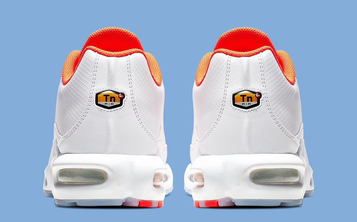 Nike Air Max Plus TN SE Spray Paint Orange White
