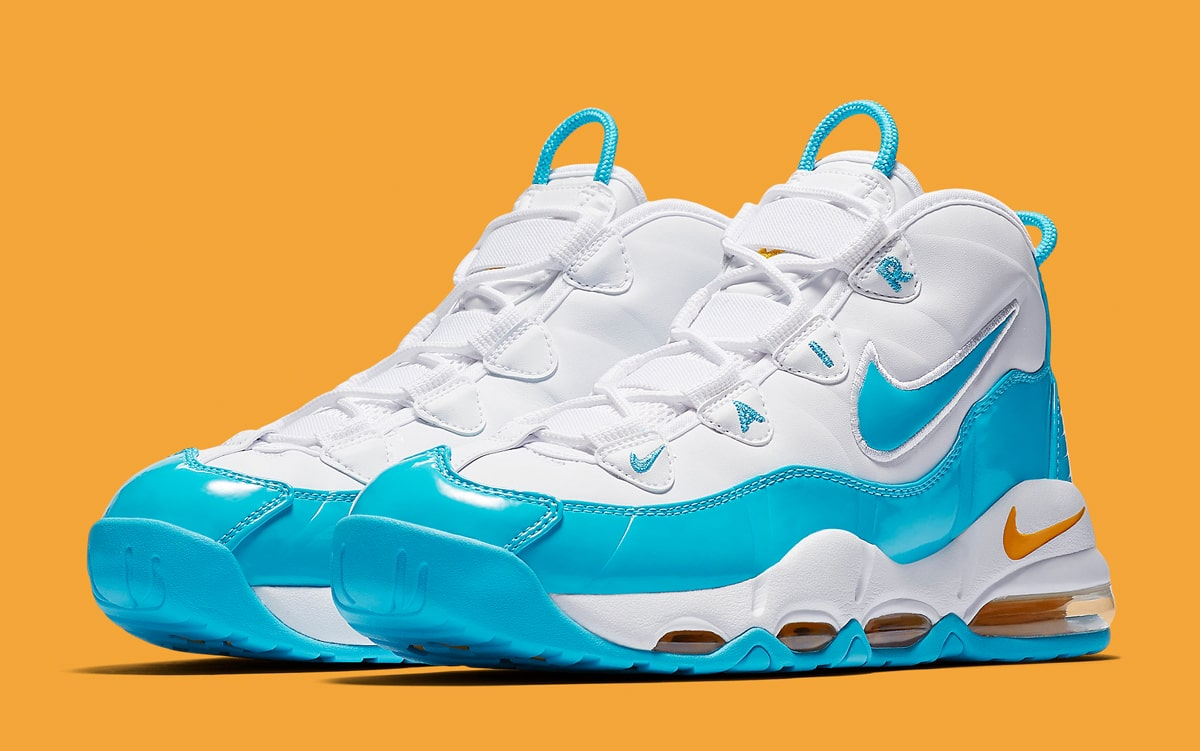 "1965a053b0 Available Now // The Air Max Uptempo 95 Arrives in Nuggets-Vibed ""Blue  Fury"" Colorway"