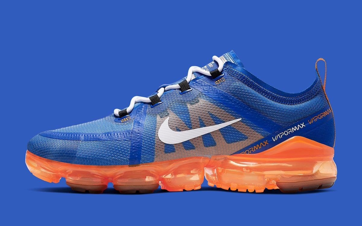 "Available Now // This Nike Air VaporMax 2019 Honors Nike's ""Blue Ribbon Sports"" Past"