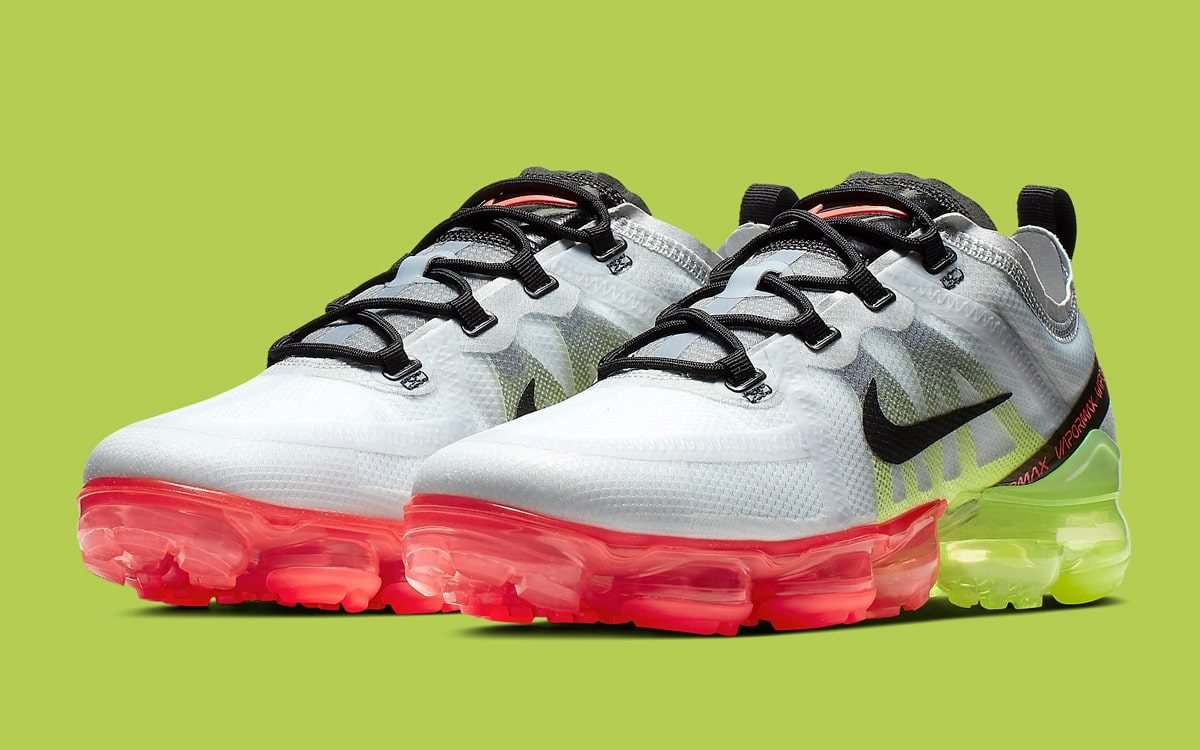 a7f9448f755d The VaporMax 2019 is Next to Don the Volt Bright Crimson Combo ...