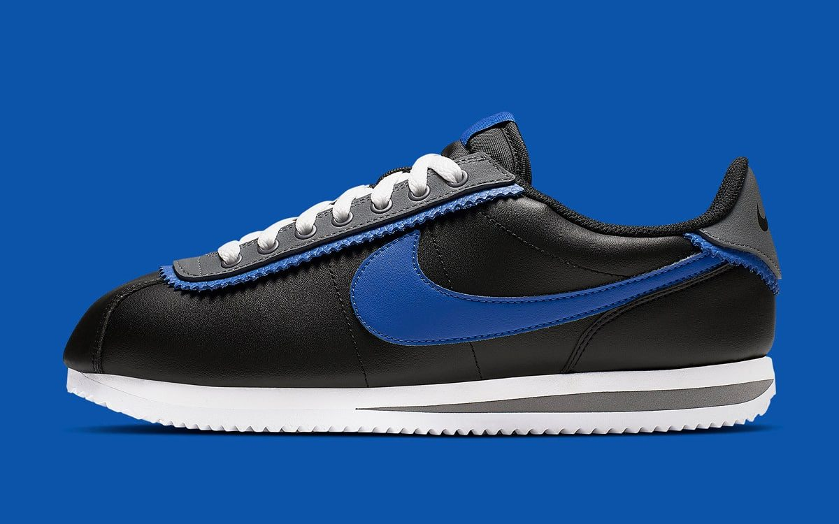 "Available Now // ""Royal"" Double-Layered Nike Cortez"
