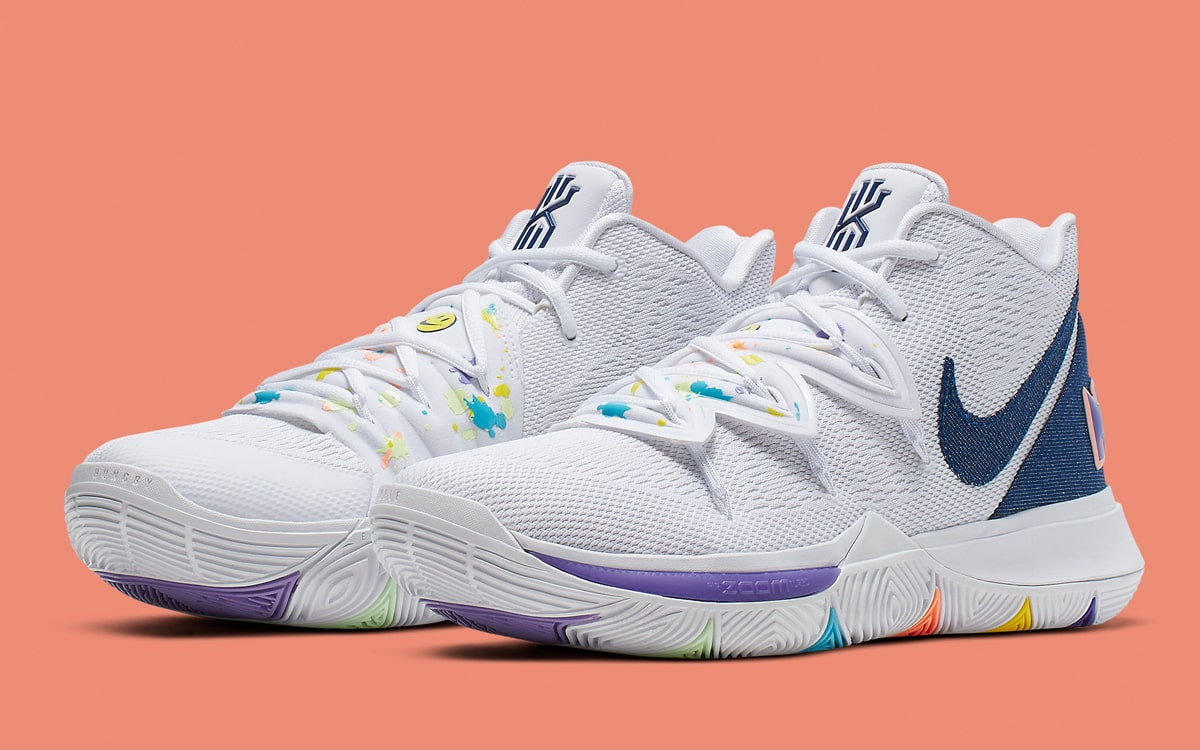 Kyrie Irving Debuts Concepts x Nike Kyrie 5 Collab On