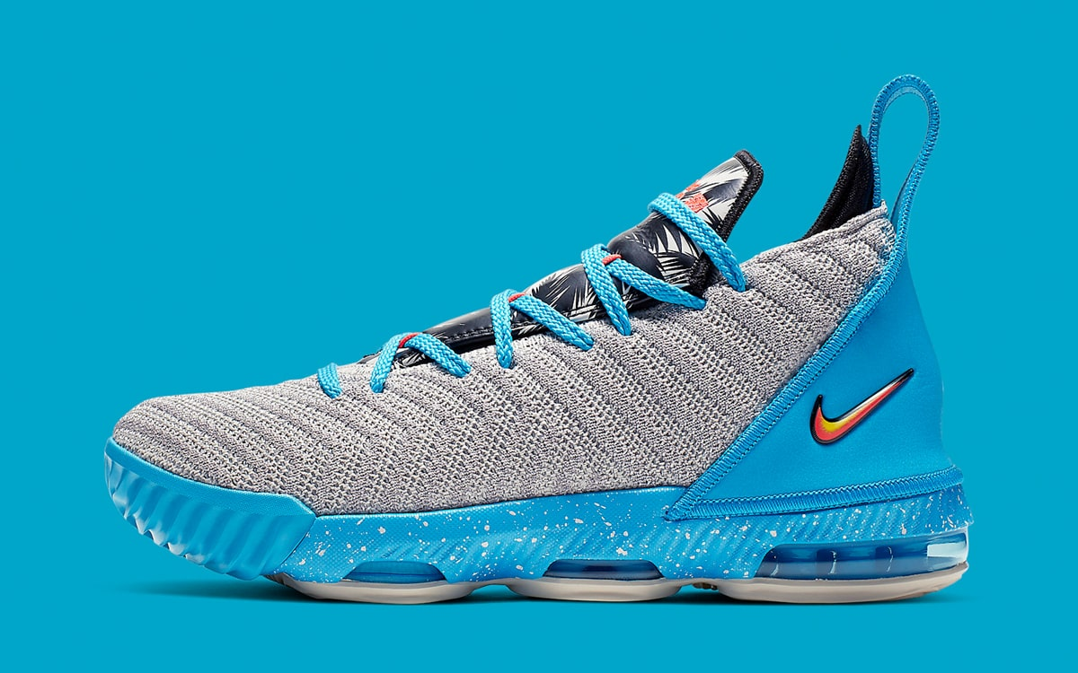 16720aabd88da1 Nike is Taking the LeBron 16 on a South Beach Vacation - HOUSE OF ...