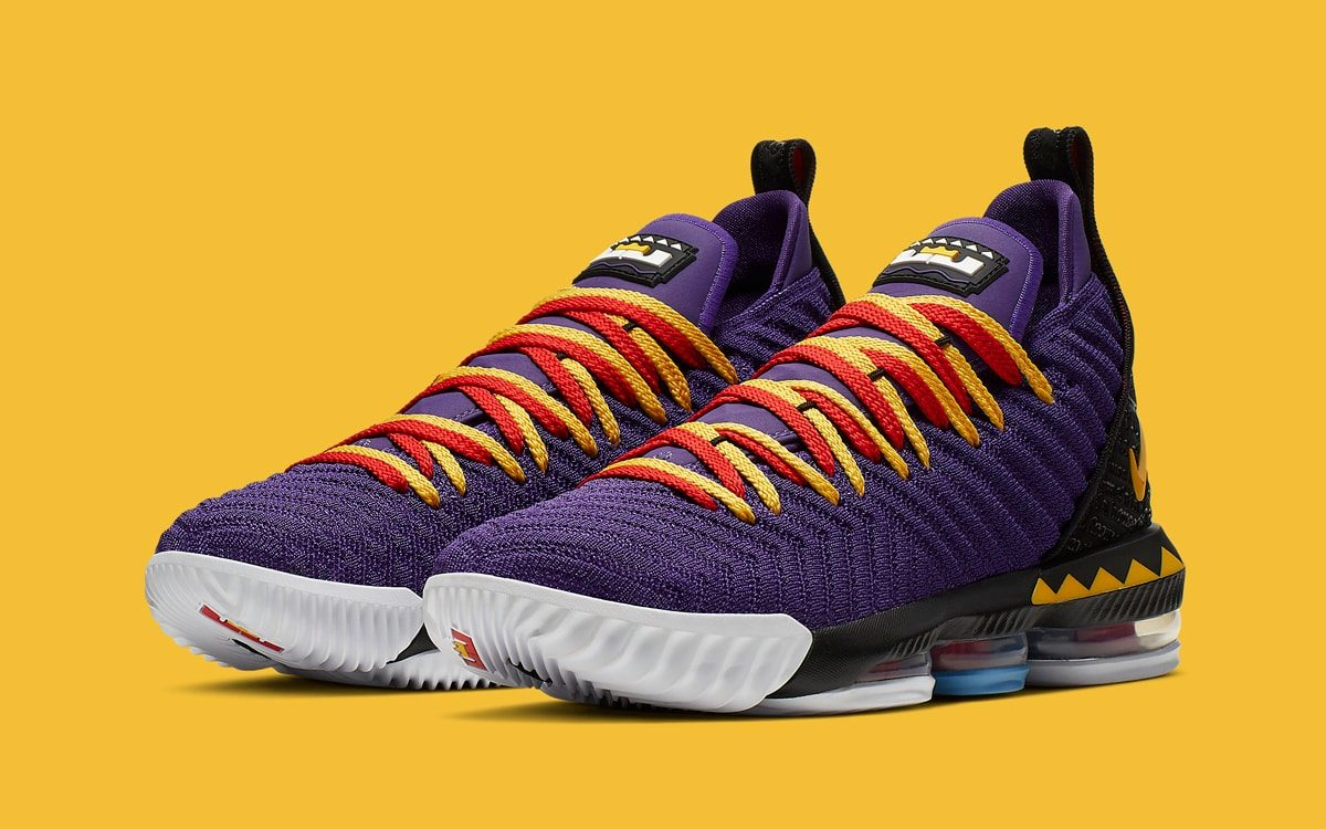 c98e7e67e86 The Nike LeBron 16