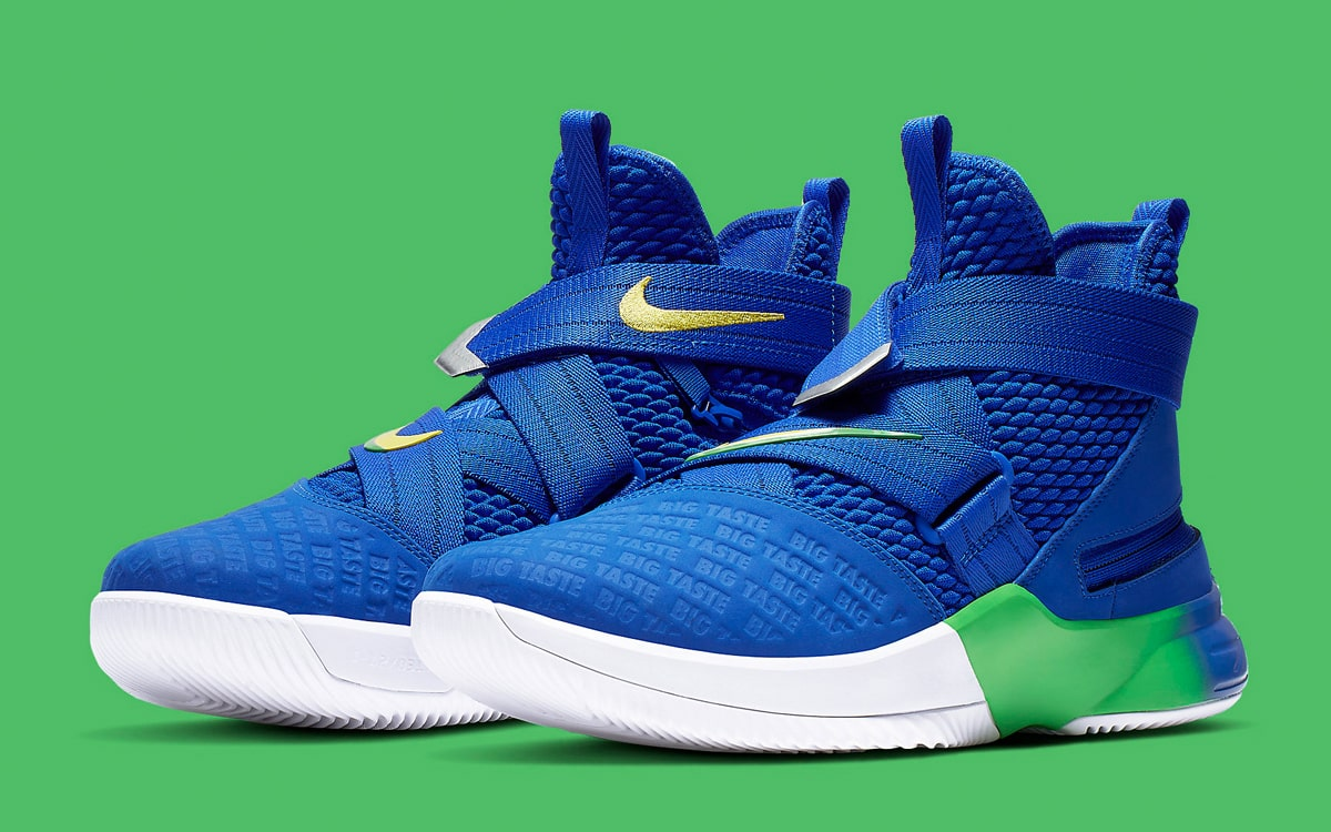 buy online 5253d b218b Available Now // Nike LeBron Soldier 12 Flyease