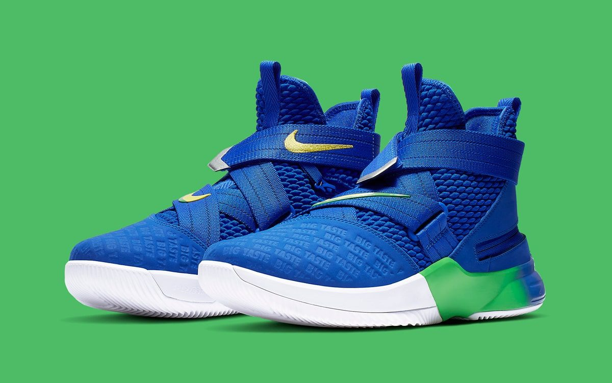 "Available Now // Nike LeBron Soldier 12 Flyease ""Sprite"""