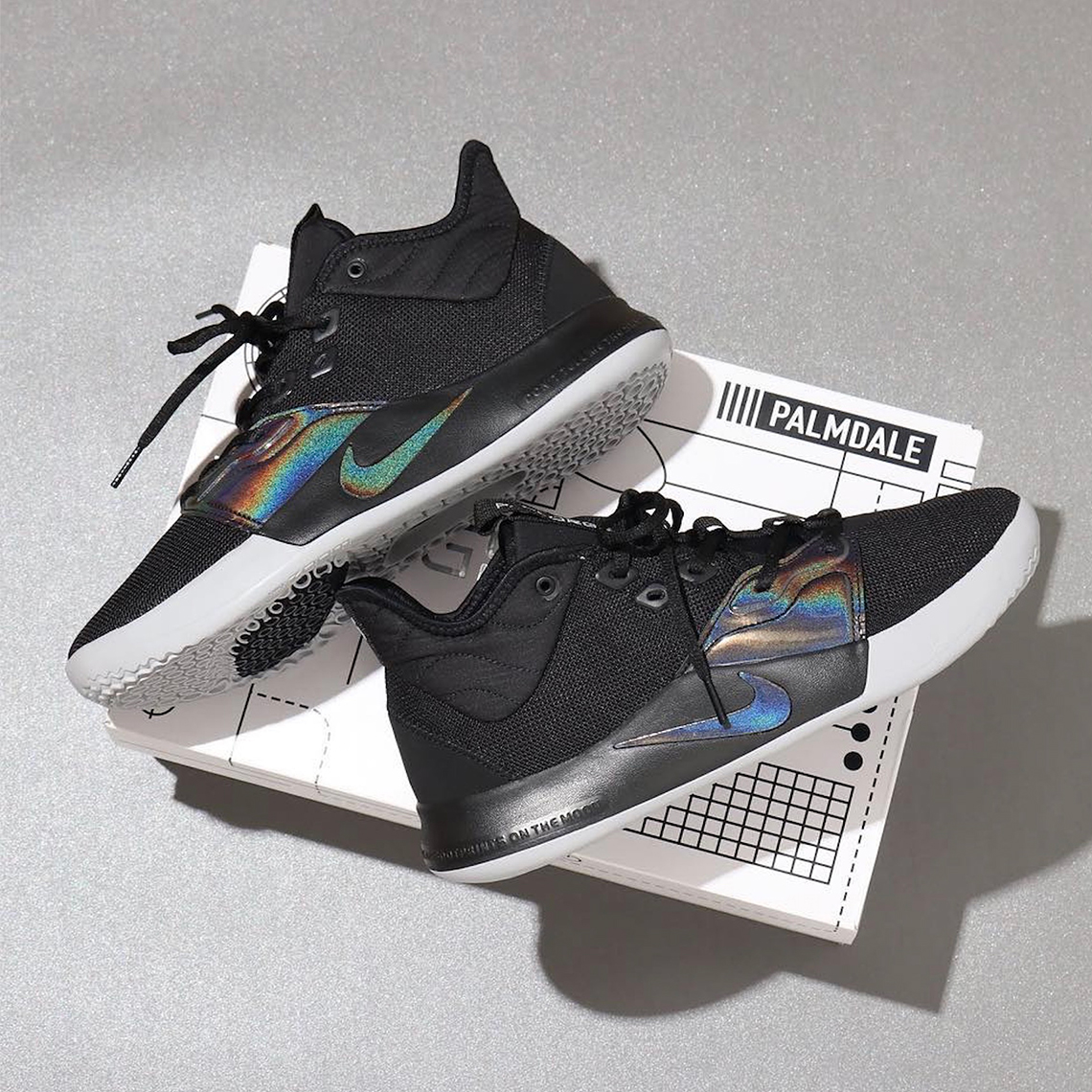 The Nike PG 3 in Black/Iridescent to See a Wider Release on May 24th