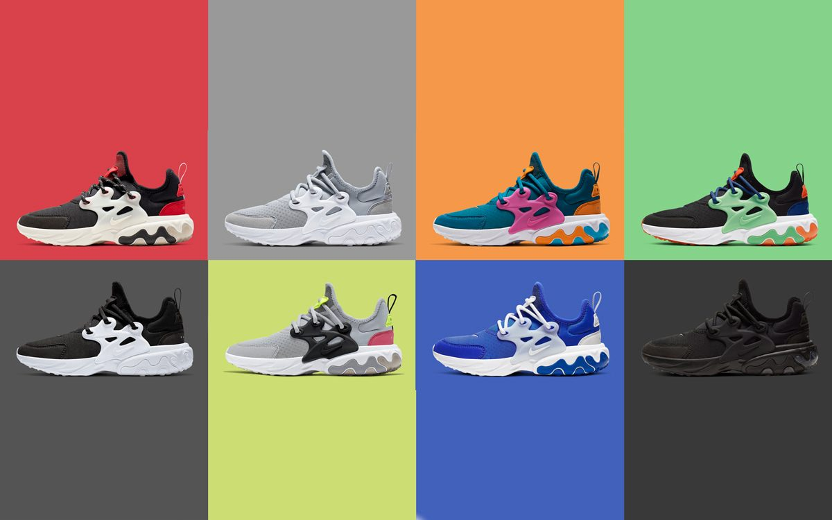 Nike Unveil an Eight-Piece Presto React Pack for Summer '19