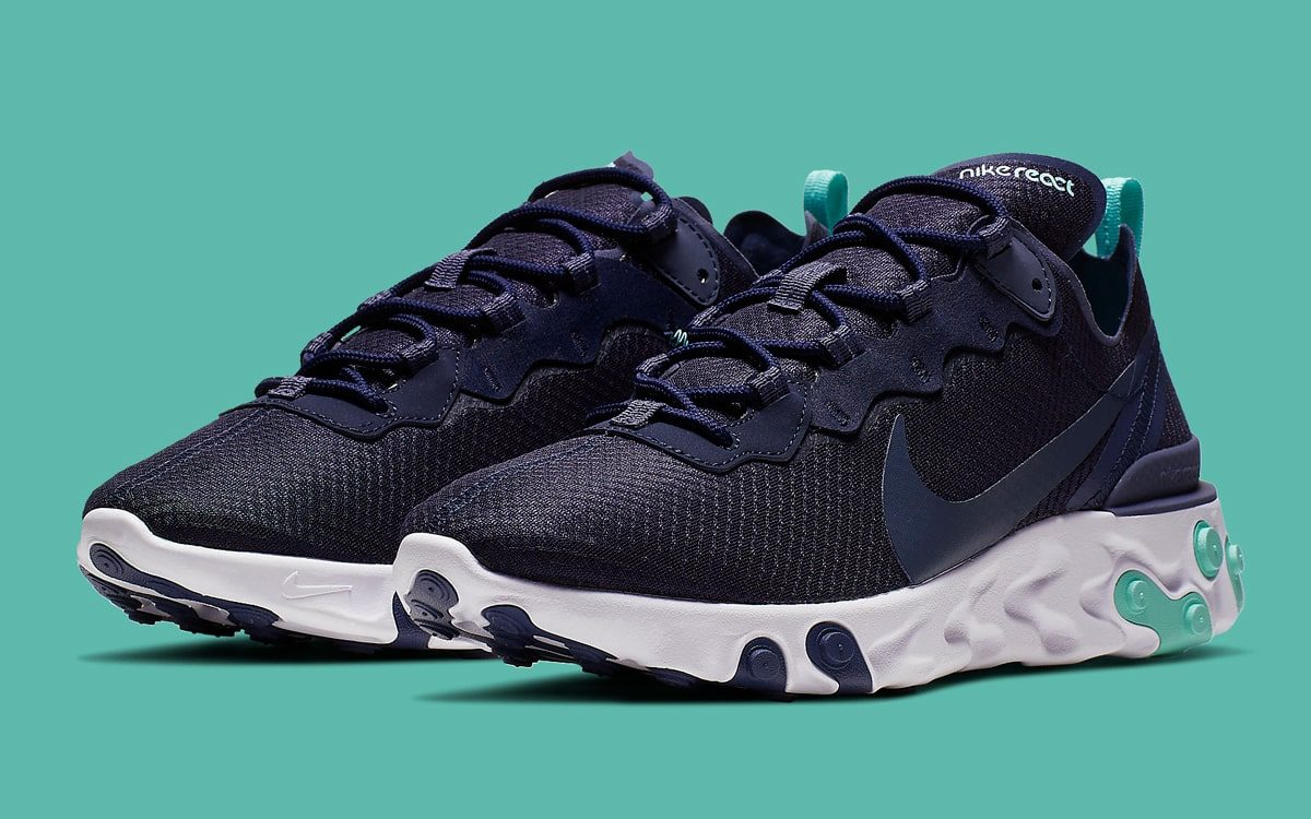 "Available Now // React Element 55 ""Monsoon Blue"""