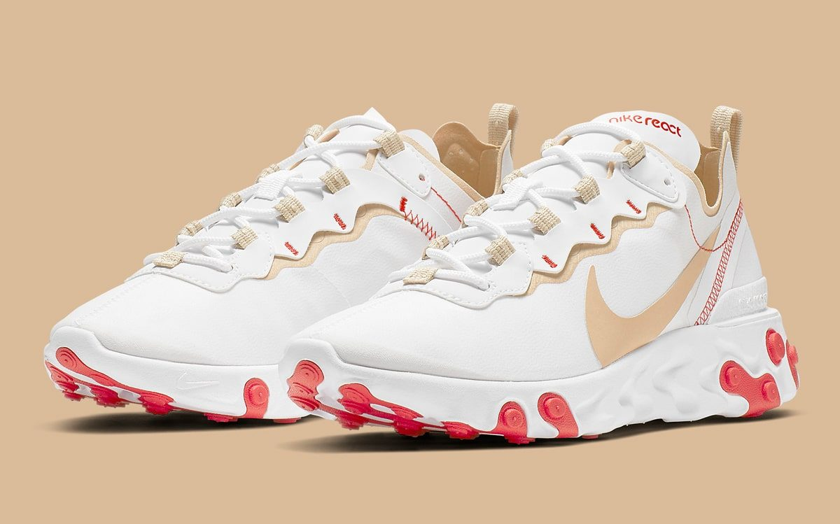"""Available Now // Nike React Element 55 """"Desert Ore"""""""