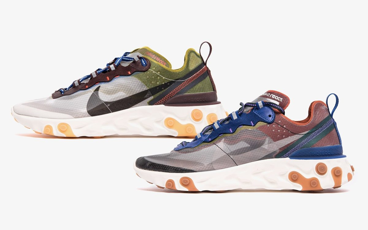Two New Takes on the React Element 87 Land Next Month