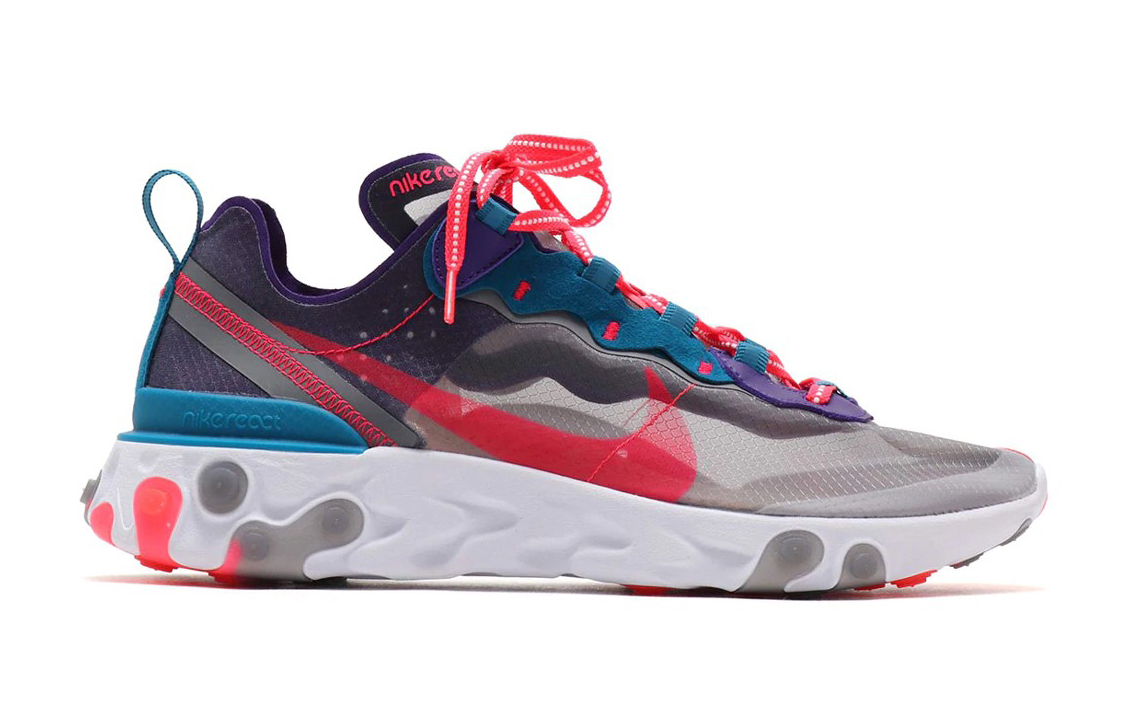 "Available Now // Nike React Element 87 ""Red Orbit"""
