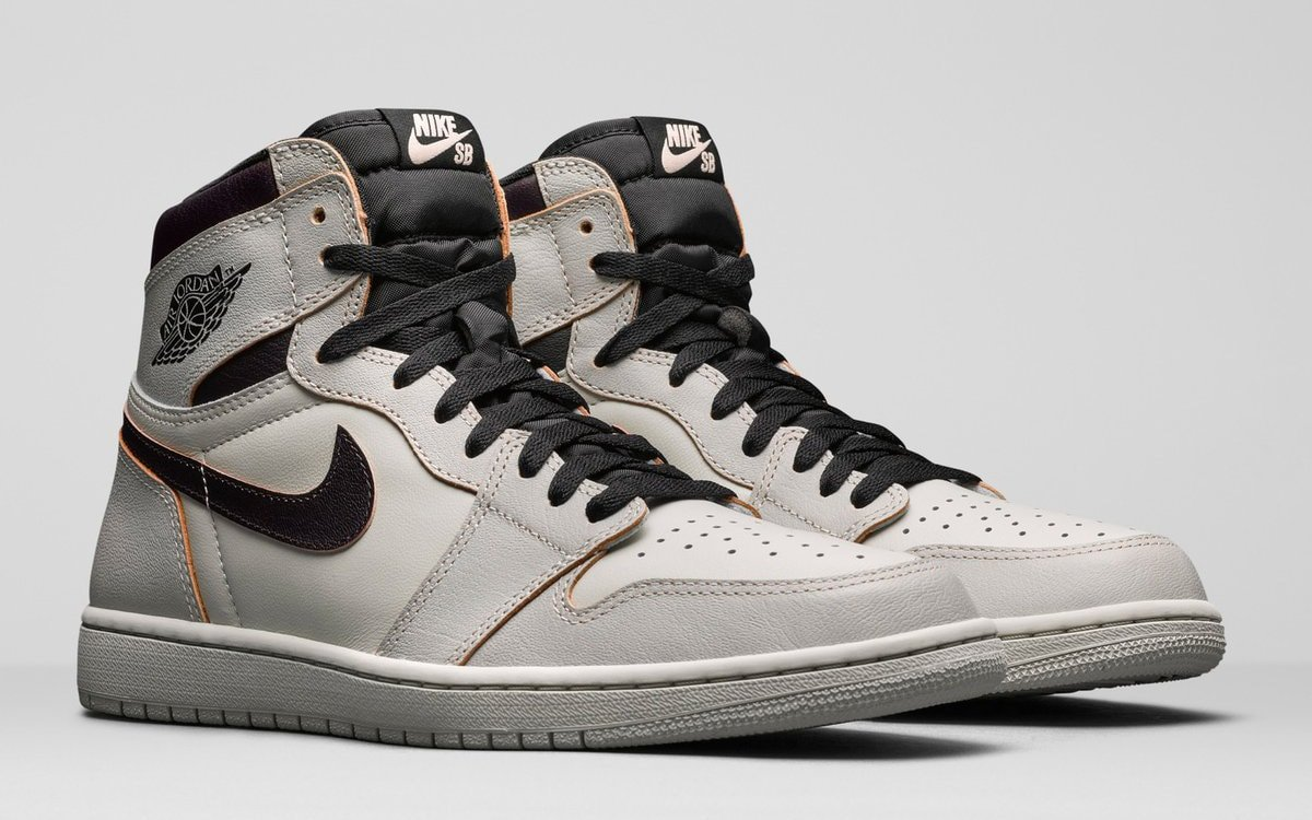 971c3ebc Official Looks at the Wear-Away Nike SB x Air Jordan 1s ...