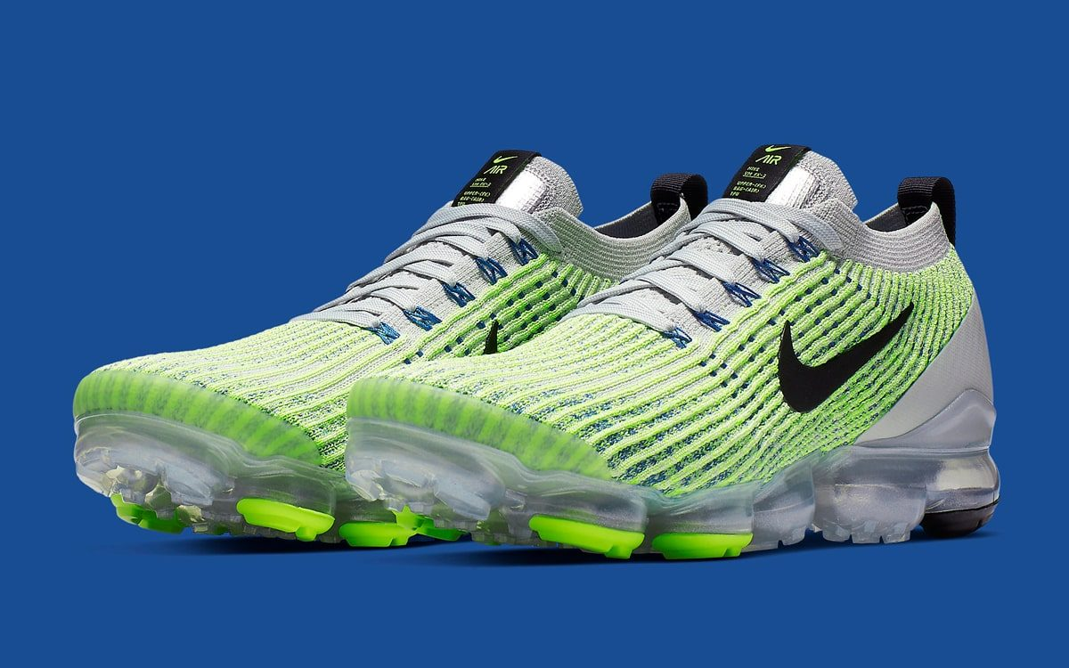 "Available Now // Nike Air VaporMax 3 ""Sprite"""