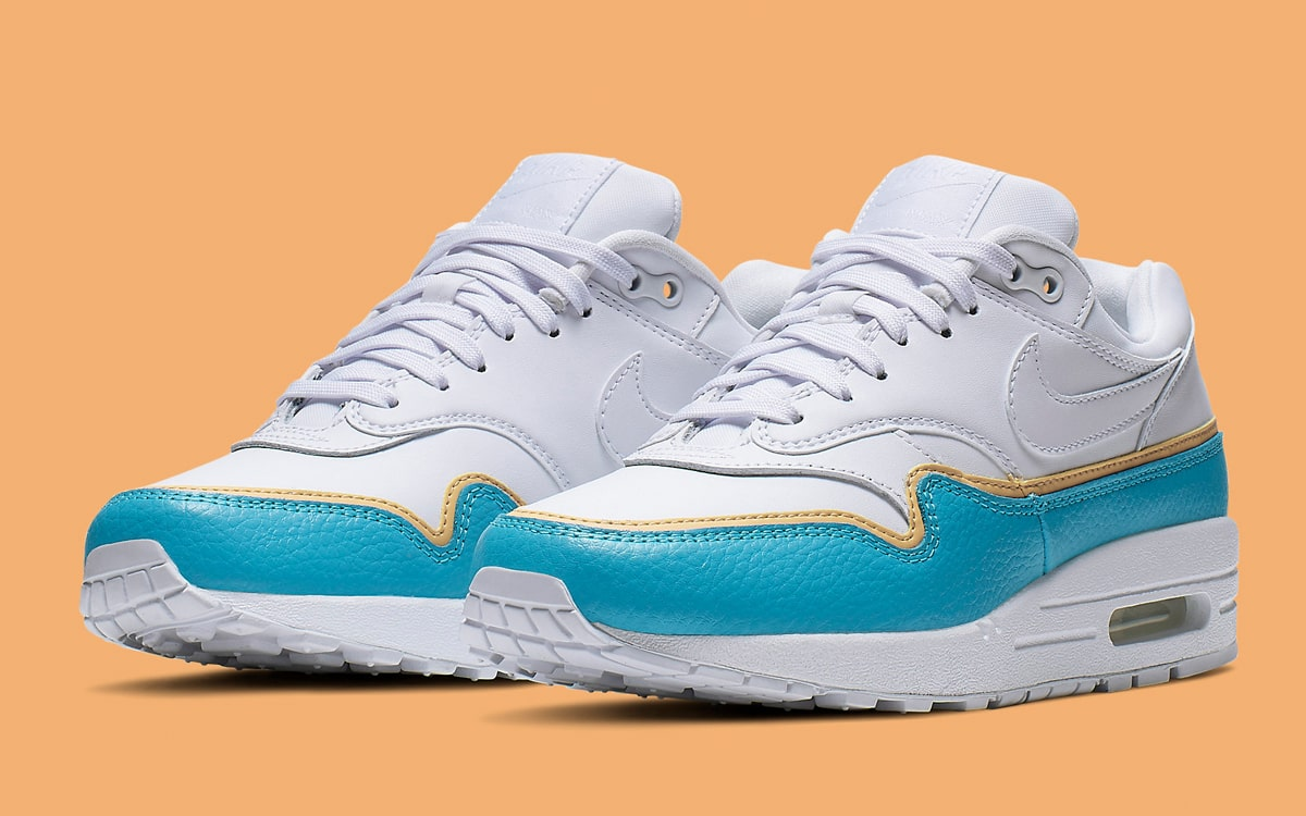 "Nike WMNS Air Max 1 SE ""Overbranded"" 881101-103"