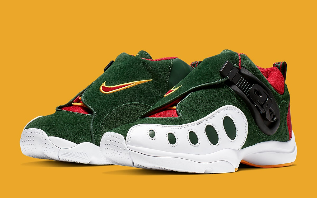 new arrivals 089d7 801d4 Gary Payton s Zoom GP to Release in Throwback Sonics Colors Next ...