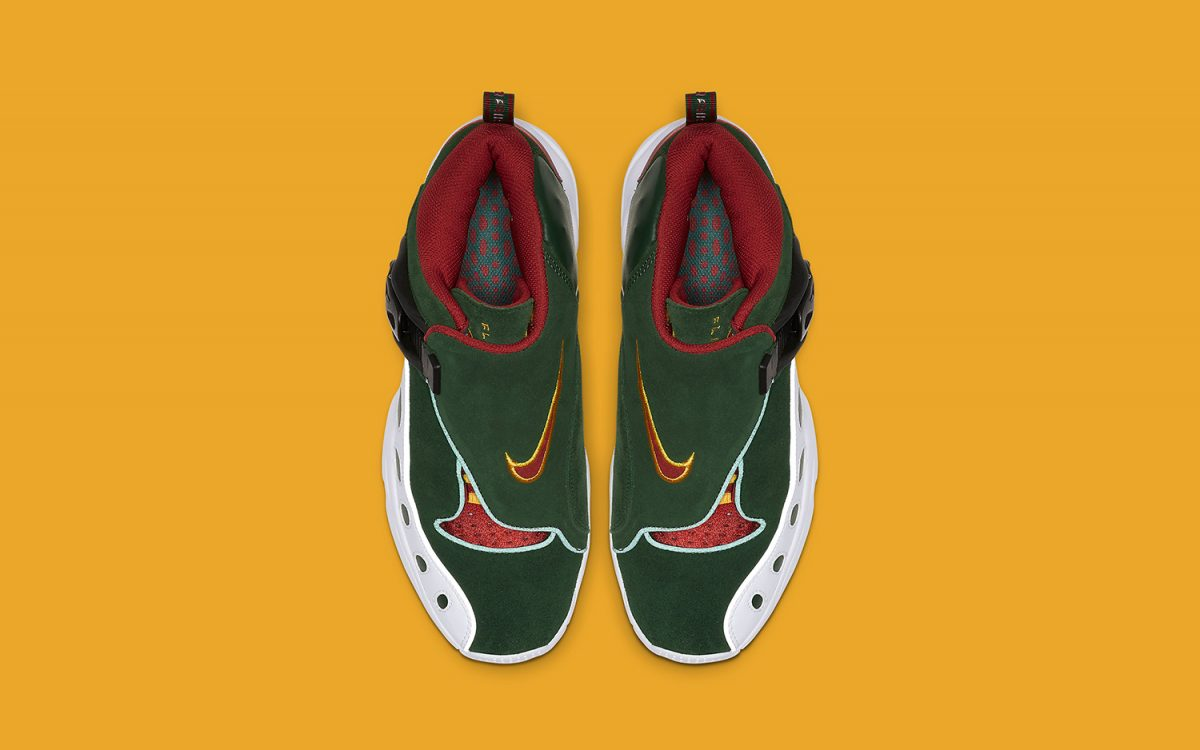 Gary Payton's Zoom GP to Release in Throwback Sonics Colors Next Week