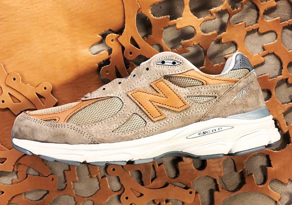"""Available Now //Todd Snyder x New Balance 990v3 """"Dark Ale"""""""
