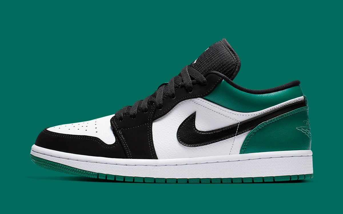 "Available Now // Air Jordan 1 Low ""Mystic Green"""