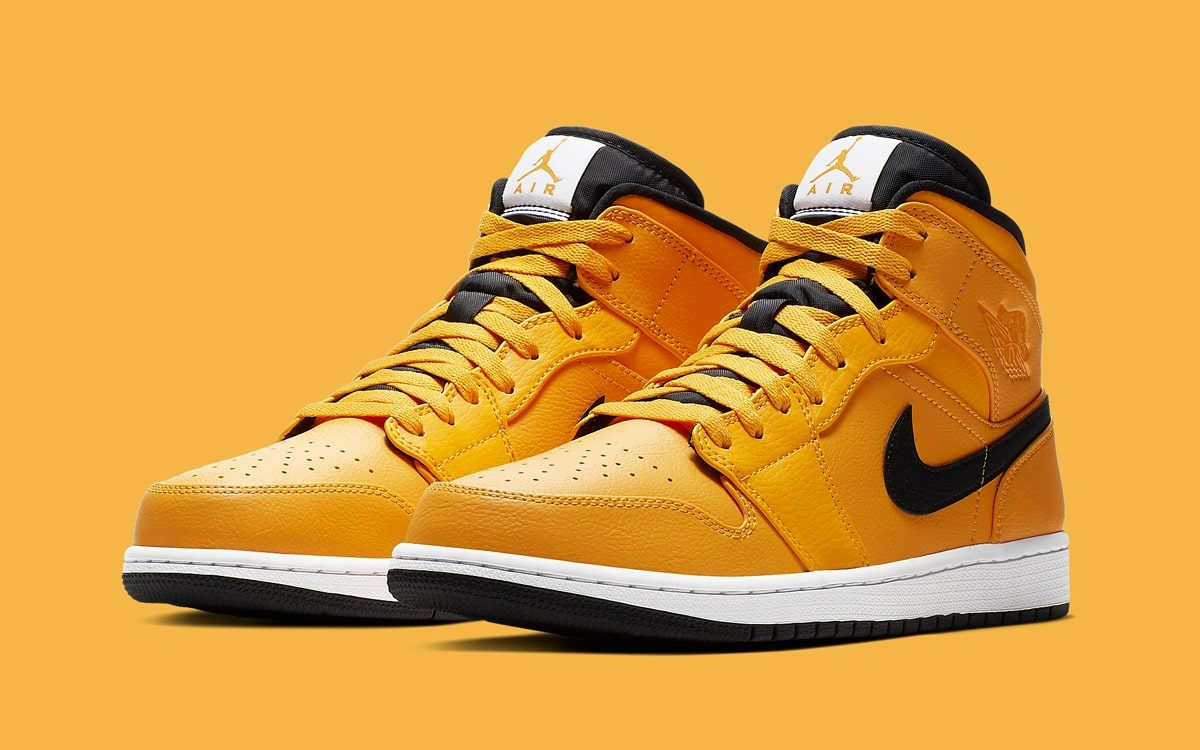 "cheap for discount 1774d 238a5 Available Now    Air Jordan 1 Mid ""Taxi"""