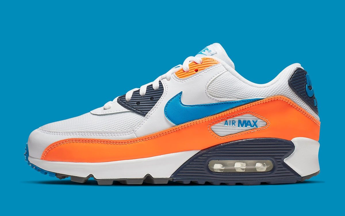 Available Now // Knicks Colors Take Over the Air Max 90