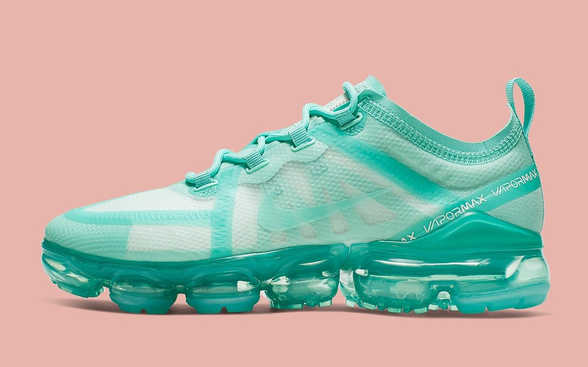 "online store a0adb 82e4a Available Now    Nike Air VaporMax 2019 ""Teal Tint"""