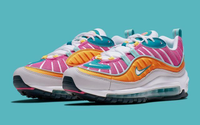 """e3d2ebd7405 Available Now    Nike Air Max 98 """"Easter"""""""