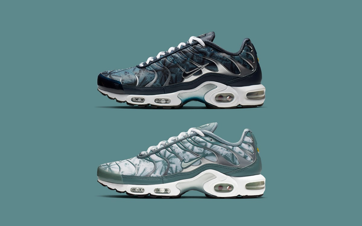 """The Nike Air Max Plus """"Palm Pack"""" is"""