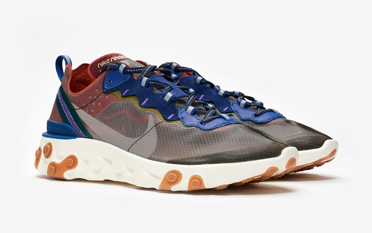 """Where to Buy the Nike React Element 87 """"Dusty Peach"""""""