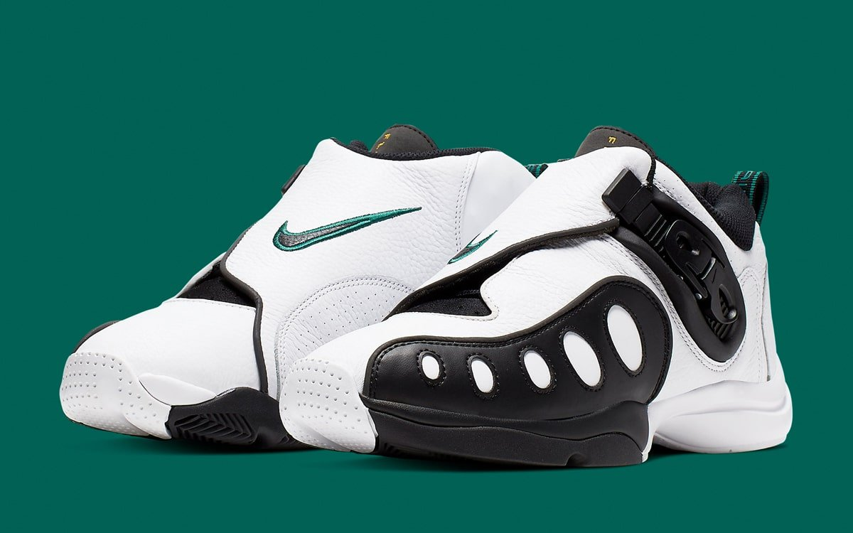 Nike Zoom GP White Black Green AR4342-100