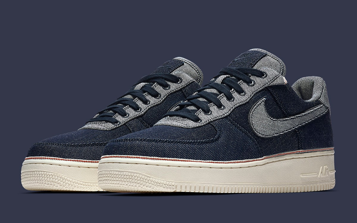 Nos vemos Restricciones Microbio  SoHo's 3x1 Drapes Three Air Force 1s in Denim - HOUSE OF HEAT | Sneaker  News, Release Dates and Features
