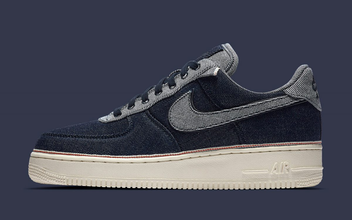 SoHo's 3x1 Drapes Three Air Force 1s in Denim HOUSE OF