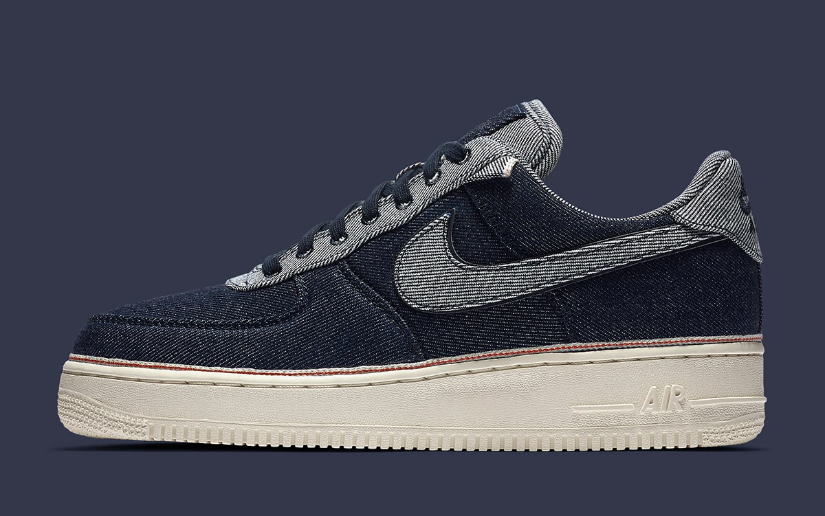aburrido galón impermeable  SoHo's 3x1 Drapes Three Air Force 1s in Denim - HOUSE OF HEAT | Sneaker  News, Release Dates and Features