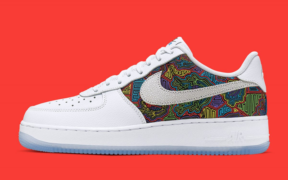 Colorful Coqui Cover Nike's Annual Puerto Rican Day Air Force 1 Low 🇵🇷