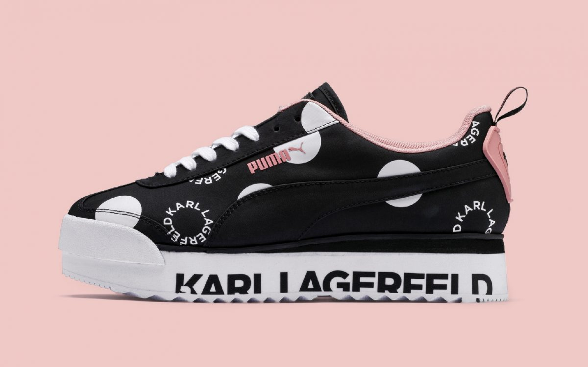 PUMA Honor the Late Karl Lagerfeld with a Special-Edition Roma Collection