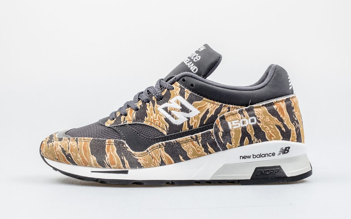"Where to Buy the ""Tiger Camo"" New Balance 1500 Made in England"