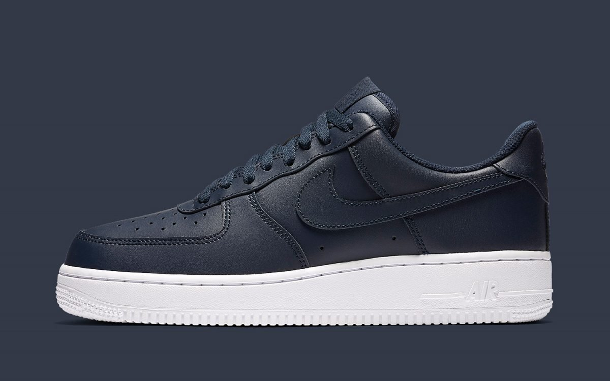 Nike Covers the Air Force 1 Upper in All-Out Obsidian