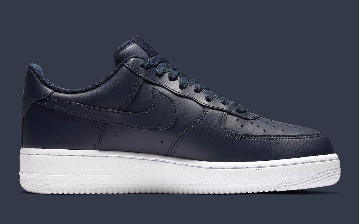 Nike Covers the Air Force 1 Upper in All Out Obsidian