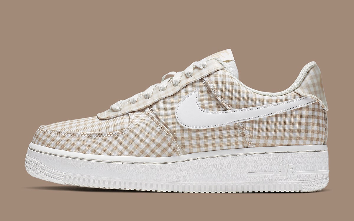 Nike to Drop a Two Piece Gingham Pack of Air Force 1 Lows