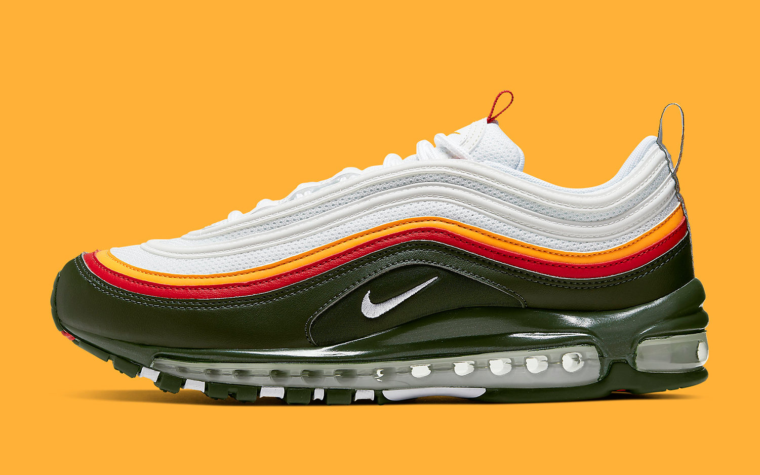 Available Now The Air Max 97 Arrives In Olive Red And Gold